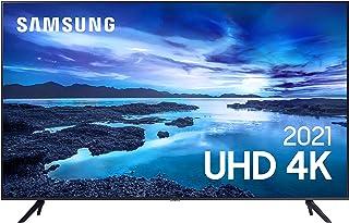 "Samsung Smart TV 50"" UHD 4K 50AU7700, Processador Crystal 4K, Tela sem limites, Visual Livre de Cabos, Alexa built in, Con..."