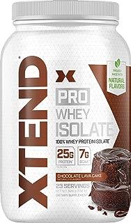 Scivation Xtend Pro Isolate Whey Protein with Bcaa Chocolate Lava Cake 1.8lb エクステンドプロ アイソレートホエイプロテイン チョコレートラバケーキ 0.8KG [海外直送品]