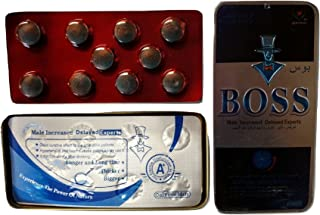BOSS Male LIBIDO and Stamina GET Big Stay in The Action Longer - TIME - Size - Stamina