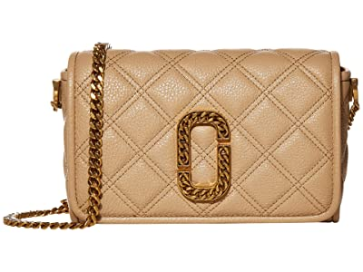 Marc Jacobs Flap Crossbody (Tan) Handbags