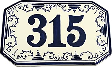 hand painted address plaques