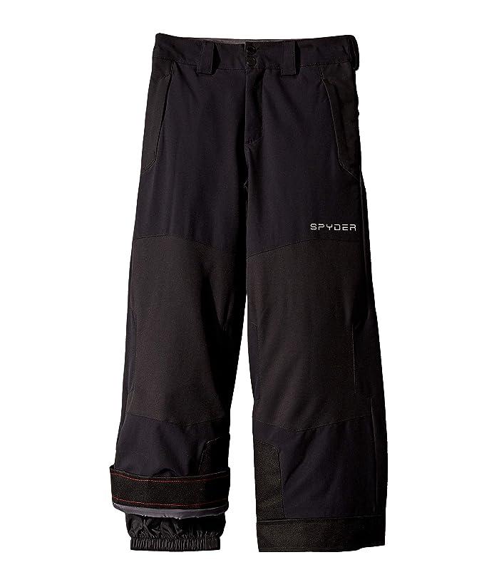 Action Pants (Big Kids) (Black) Boy's Outerwear