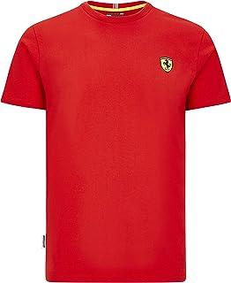 Ferrari Scuderia F1 Men's Small Shield T-Shirt Black/Red