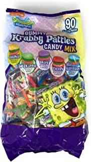 Spongebob Gummy Krabby Patties Candy Mix - 90 Ct.bag (1 Lb.12.55 Oz.)