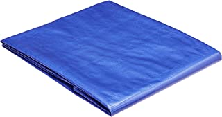 Best AmazonCommercial Multi Purpose Waterproof Poly Tarp Cover, 6 X 8 FT, 5MIL Thick, Blue, 3-Pack Review