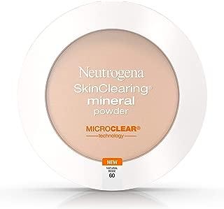 Neutrogena SkinClearing Mineral Powder, Natural Beige 60, (Pack of 2)