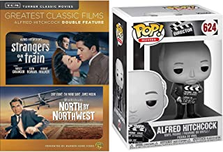 Master Directors Edition Alfred Hitchcock Collectible + Cary Grant North By Northwest & TMC Strangers on A Train DVD movie suspense Figure Collection