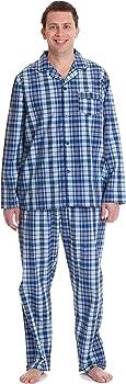 followme Plaid Pajama Set for Men