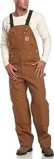 Carhartt Men's Duck Bib Unlined Overall R01
