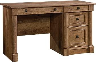 Sauder Palladia Computer Desk, Vintage Oak finish