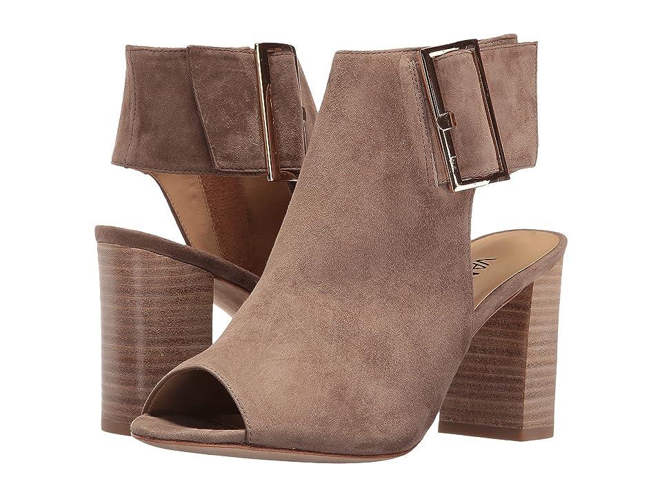 Vaneli Bisa (Truffle Suede/Gold Buckle) High Heels