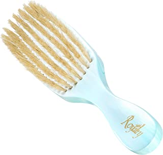 Royalty By Brush King Wave Brush #712- Soft 7 row Brush - From The Maker Of Torino Pro 360 Wave Brushes