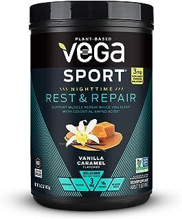 VEGA Vanilla Caramel Rest & Repair Powder, 14.2 OZ