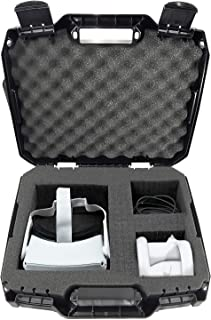 CASEMATIX Hard Case Compatible with Oculus Quest and Oculus Quest 2 VR Gaming Headset & Accessories - Oculus Quest Case St...