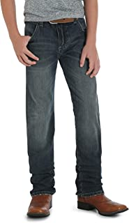 Wrangler Boys' Retro Slim Fit Straight Leg Jean