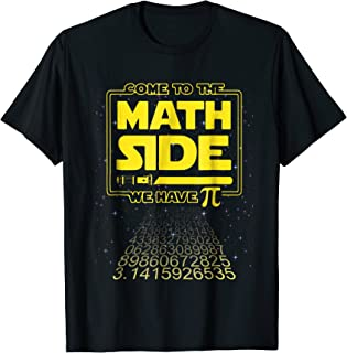 math pi day shirts