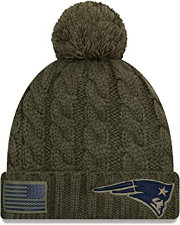 0ff4e9e772b163 New Era Women 2018 Salute to Service Sideline Cuffed Knit Hat – Olive