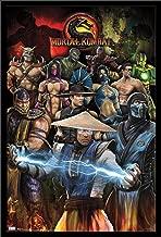 "Trends International Mortal Kombat-Group Wall Poster, 24.25"" X 35.75"", Multi"