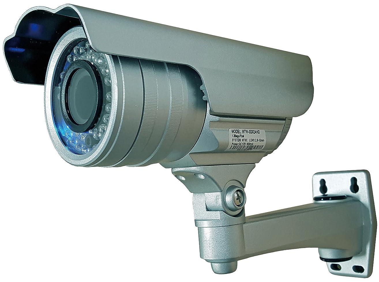 レンド心のこもったマザーツール HD画質録画対応SDカードレコーダー搭載130万画素高画質防水型Day&Night AHDカメラ MTW-SD02AHD
