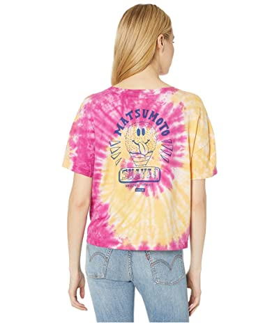 Hurley Matsumoto Shave Ice Tie-Dye Short Sleeve T-Shirt (Multicolor) Women