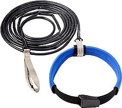 StretchCordz Long Belt Slider, Silver Strap Handle