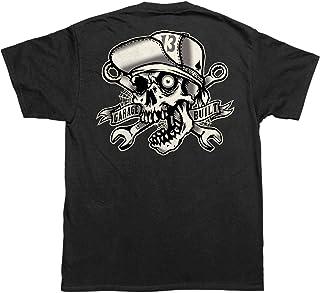 Lucky 13 Men's Skull Bro T-Shirt Black