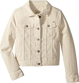 Brianna Denim Jacket in Natural (Big Kids)