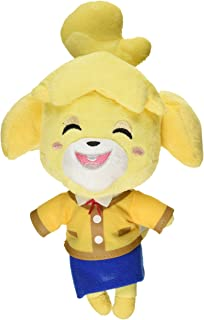 "Little Buddy USA Animal Crossing New Leaf Smiling Isabelle/Shizue 8"""" Plush, Multi-Colored, 6"""""" (1309)"
