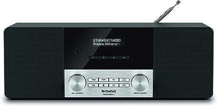 TechniSat Digitradio 4 Stereo DAB Radio (DAB+, UKW, Bluetooth, Kopfhöreranschluss, AUX-Eingang, Radiowecker, OLED Display,...