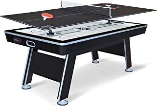 EastPoint Sports NHL Power Play Hover Hockey Table with Table Tennis Top, 80-inch