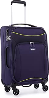 Antler 4263195026 Zeolite 4W Cabin Roller Case Carry-Ons (Softside), Purple, 56 cm