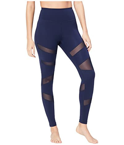 Core 10 Icon Series The Warrior Mesh Leggings (Navy) Women