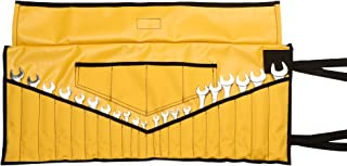Bull Tools BT 18-304 Wrench & Tool Roll 22+4 pocket 100% Dyed 15 Oz. Cotton Duck Canvas (1 Piece, Yellow)