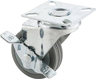 Steelex D2593 grijze rubberen wielen, 2-inch