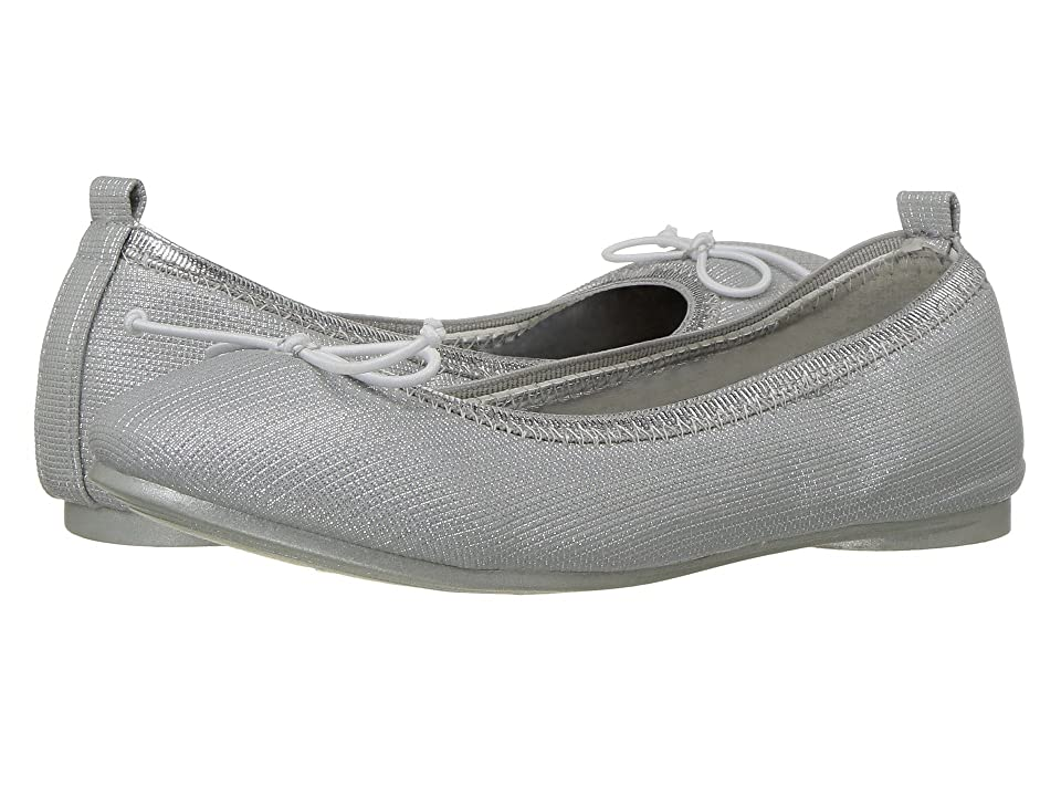 Kenneth Cole Reaction Kids Copy Tap (Little Kid/Big Kid) (Textured Silver) Girls Shoes