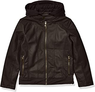 Urban Republic Boys Textured Faux Leather Jacket