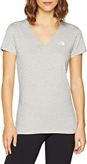 The North Face S/S SIMPLE DOME T-SHIRT for WOMEN T0A3H61TG Grey - M