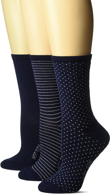 Hot Sox womens Classic Patterns Novelty Fashion Casual Socks