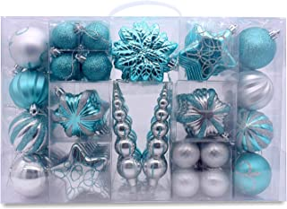 blue and silver christmas theme
