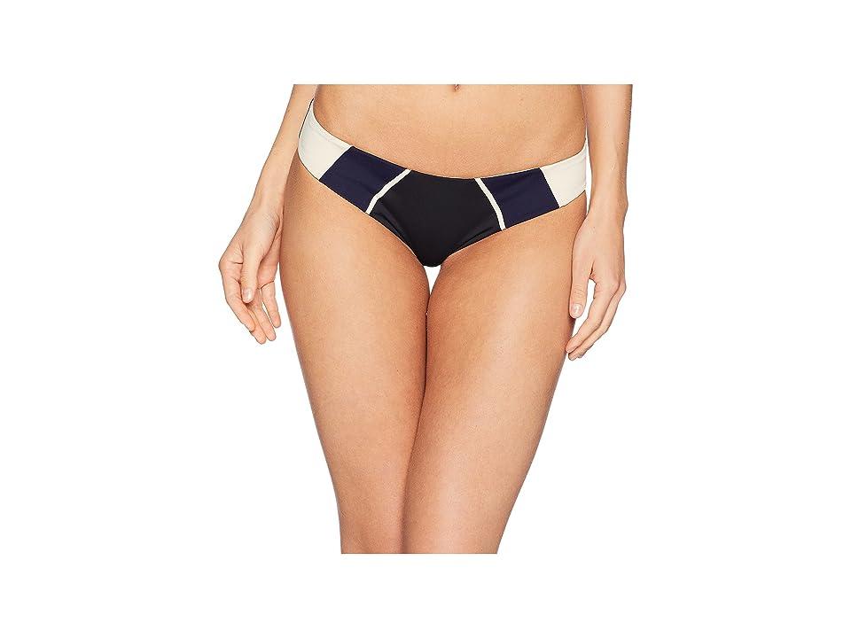 Tavik Alea Moderate Swim Bottom Color Blocked (Tapioca Slot Seam) Women