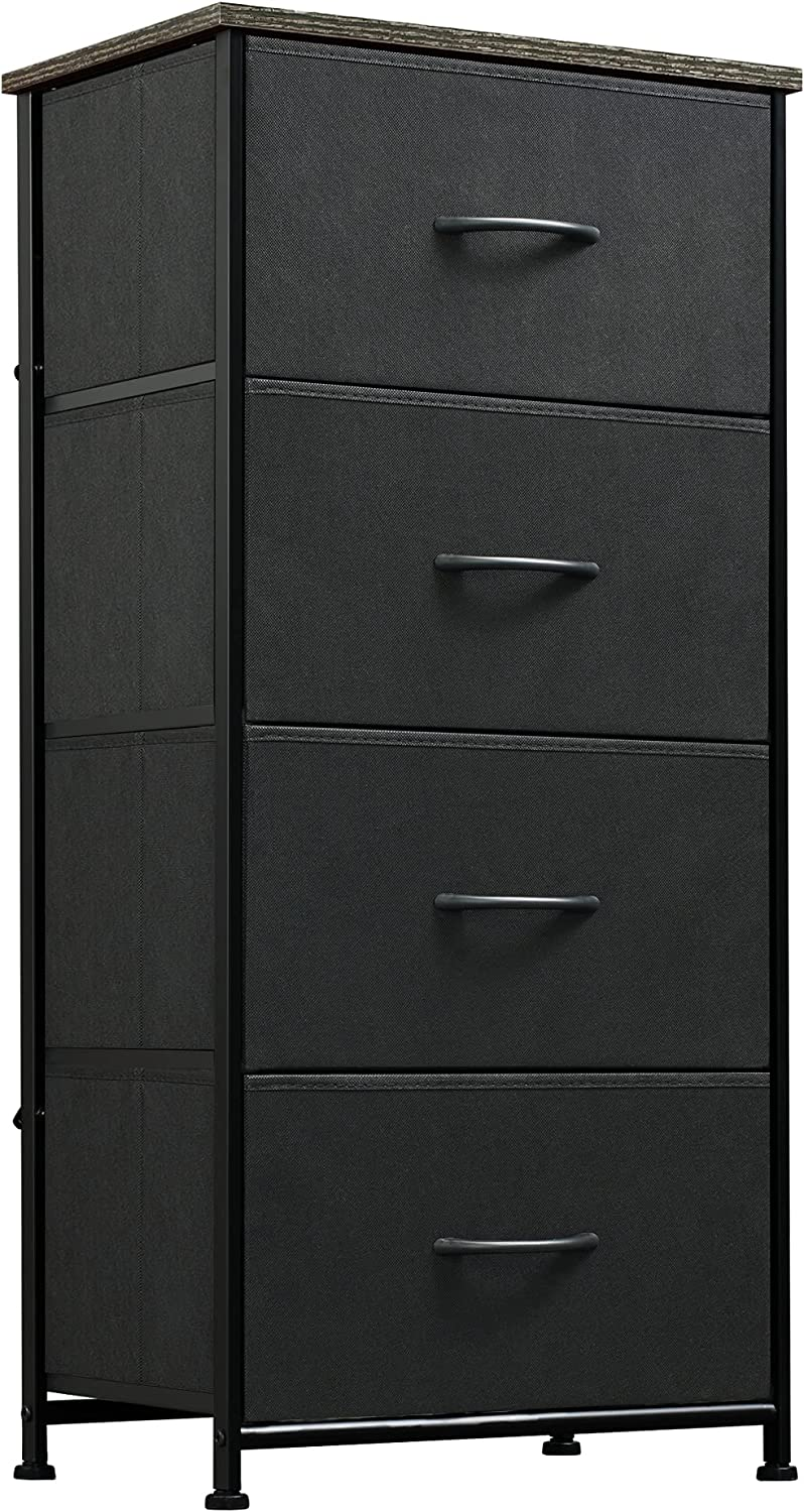 WLIVE Dresser Detroit Mall with 4 Drawers Storage Tower Fabric Un Organizer excellence
