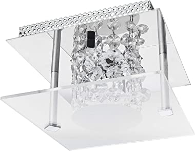 Plafon LED, LLUM Bronzearte, 35848, 10W, Cristal