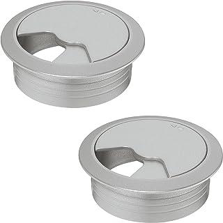 EISNHAUER® Kabeldurchlass Kabelführung Kabeldose Edelstahl Chrom matt 60 mm