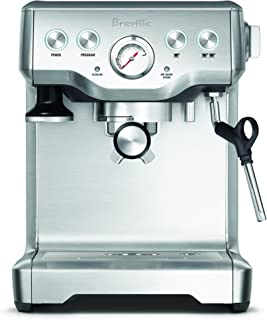 Breville The Infuser Espresso Machine, Brushed Stainless Steel BES840BSS, Silver