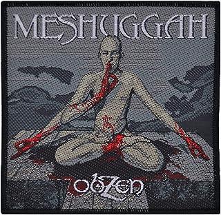 Meshuggah Obzen Album Patch Progressive Metal Band Music Woven Sew On Applique