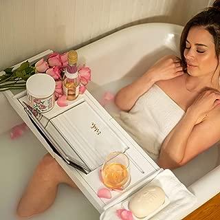 Best bathtub caddy white Reviews