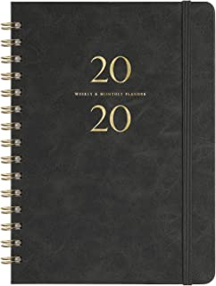 "2020 Planner – Weekly & Monthly Planner with Monthly Tabs, 6.3"" x.."