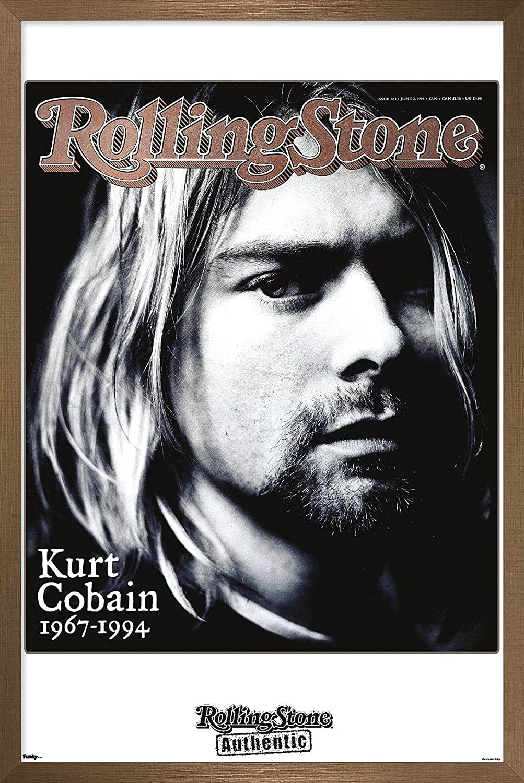 Trends International Rolling Stone Magazine Cobain Wall P Kurt - ※ラッピング 上等 ※