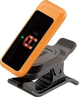 KORG(コルグ) ギター/ベース用 クリップチューナー PC-0 OR オレンジ pitchclip ピッチクリップ レフティに対応 軽量 コンパクト