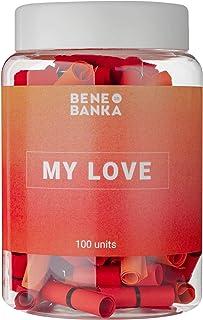 Jar of notes My Love 100 PCS